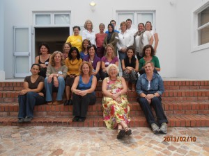 Group of social workers,therapists,psychologists at Truama and Recovery workshop  with Joanna Beazley Richards